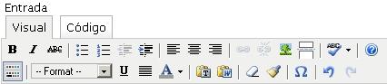Editor avanzado de WordPress 2.1