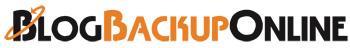 Blog Backup Online