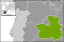 Localización de Castilla-La Mancha en España