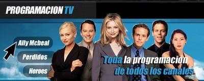 programación de televisión
