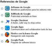 Referencias de Google