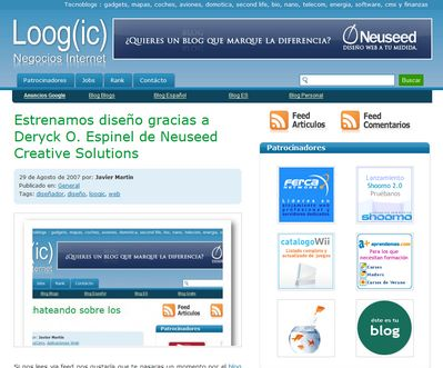 Nuevo diseño Loogic.com