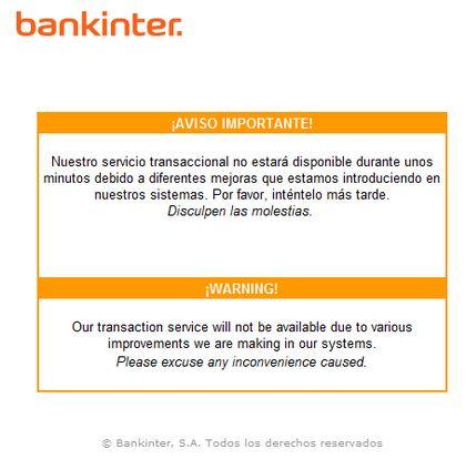 Bankinter Offline