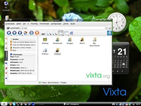 linux vixta