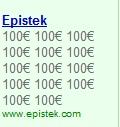 Publicidad optimizada para Google