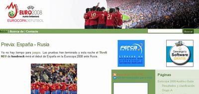 Blog Eurocopa de fútbol