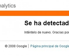 Google analytics caido/down