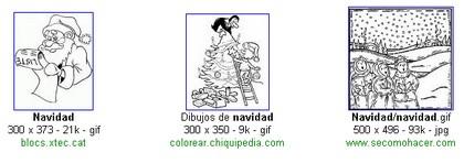colorear imágenes en navidad