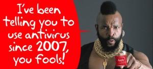 MR. T recomienda el antivirus para mac
