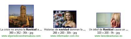 noticias de navidad en google image search
