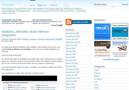 Captura tema wordpress simplebalance en español