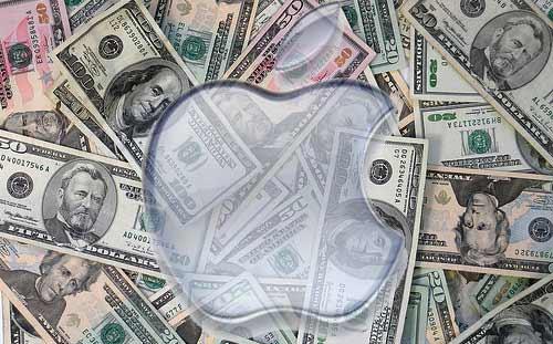 Apple y el dinero