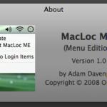 MacLoc, bloqueo rápido en OS X