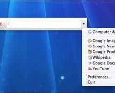 qsb: Quick Search Box de Google