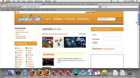 captura mac os x juegosweb