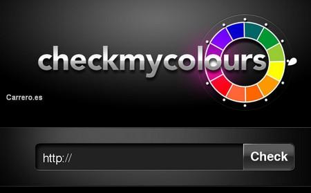 comprobar colores de una web