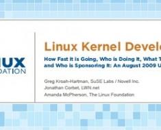 desarrollo kernel linux