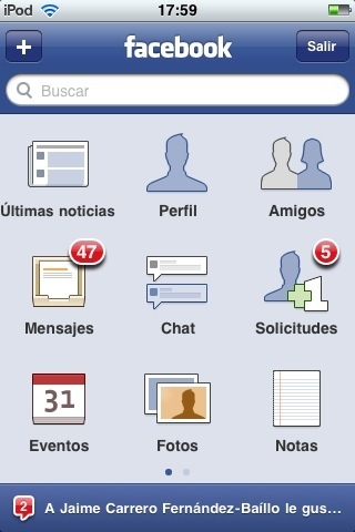 facebook 3.0 para ipod touch e iphone