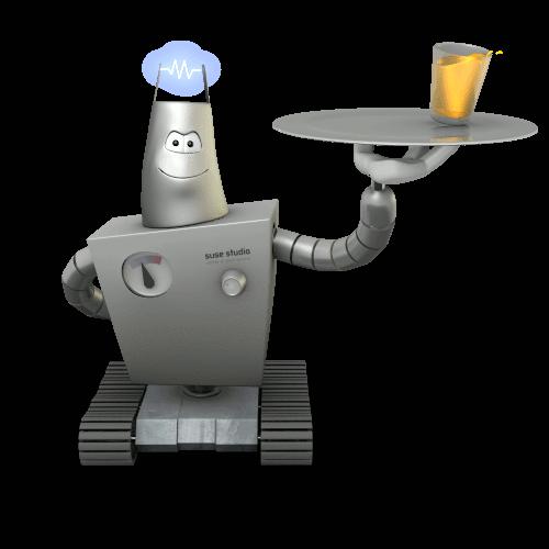 robot suse studio
