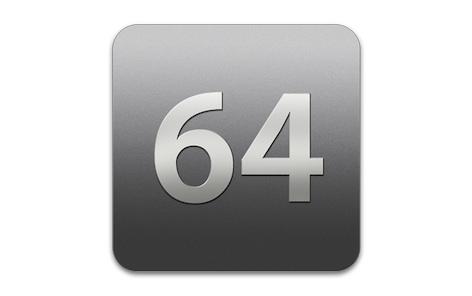 64 bits OS X