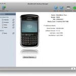 Gestor de escritorio de BlackBerry en OS X