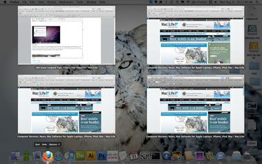 Exposé OS X Snow leopard