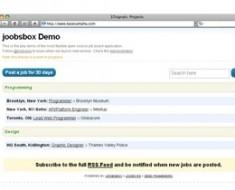 joobsbox demo