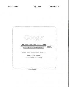 patente de pagina inicio Google