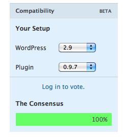 compatibilidad plugins wordpress