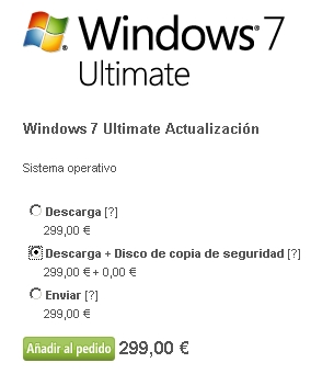 comprar windows 7 ultimate, me niego