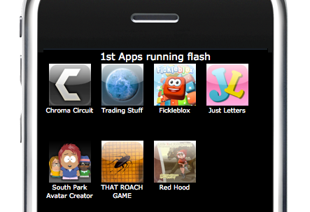 flash cs5 apps for iphone