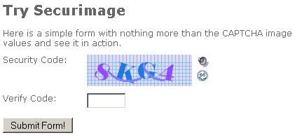 secureimage captcha