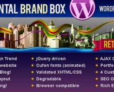 horinzontal brand box