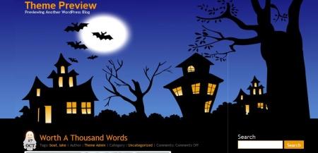 Plantilla WordPress Halloween