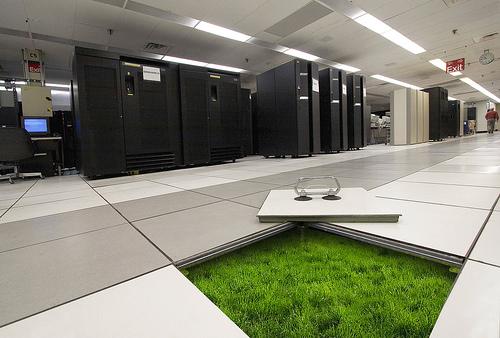 centro de datos verde IBM Dentro de los centros de datos más grandes del mundo