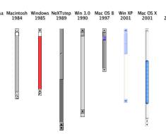 barras de desplazamiento - scrollbars