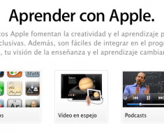 educacion - aprender con apple