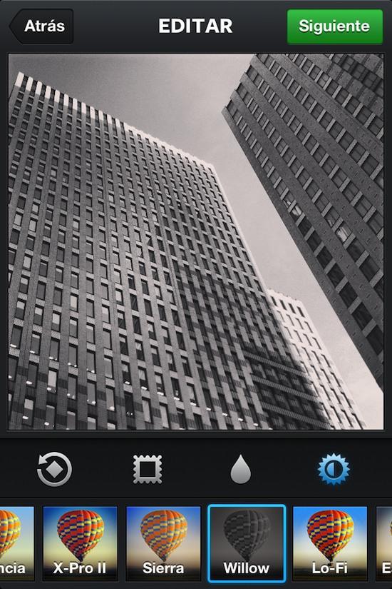 instagram willow dcarreo amsterdam Instagram introduce nuevos filtros, recortar y otras herramientas