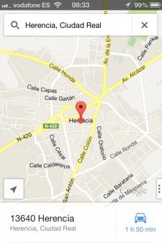 mapas google herencia
