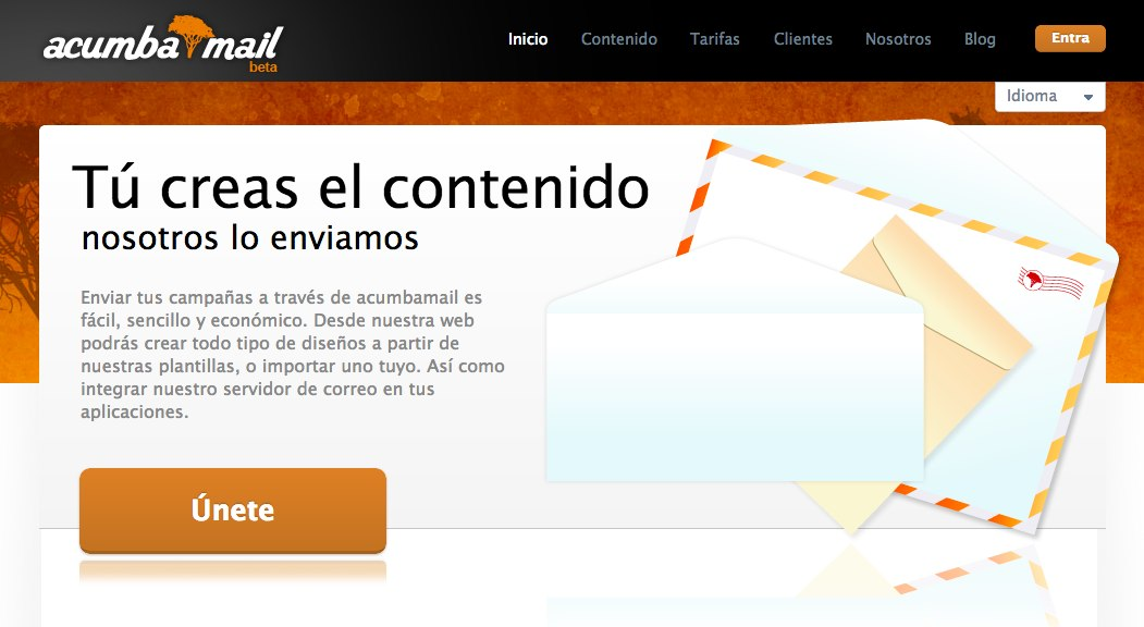 tu creas el contenido y nosotros lo enviamos - email marketing