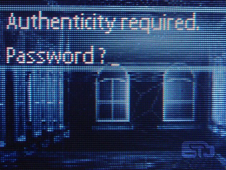 necesias password