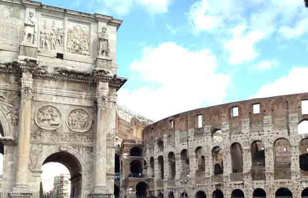 Coliseo de Roma. foto de David Carrero