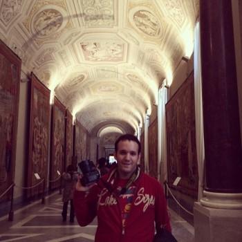 david carrero en el vaticano con nikon d610