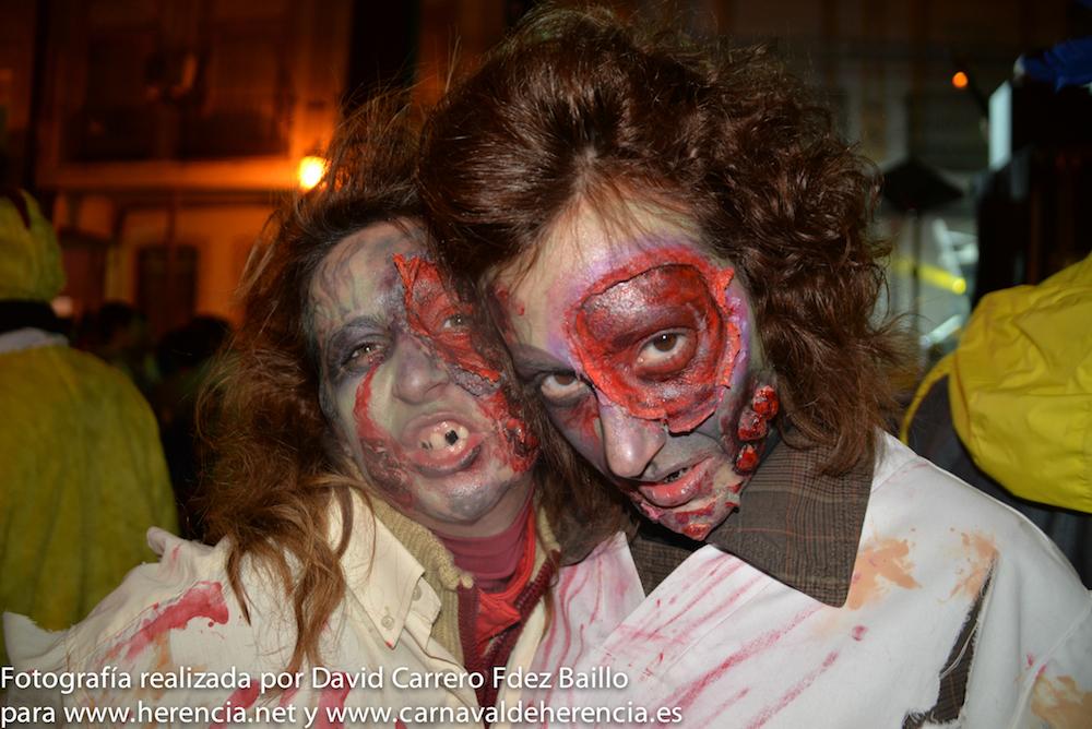 Zombies en Carnaval de Herencia