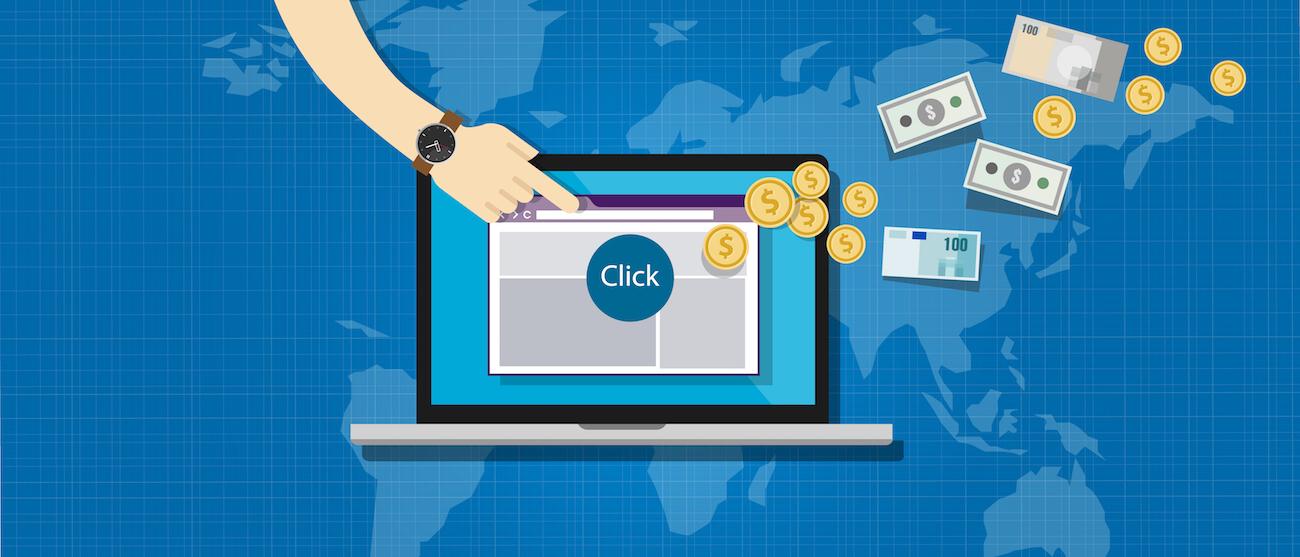 Programas de afiliación click